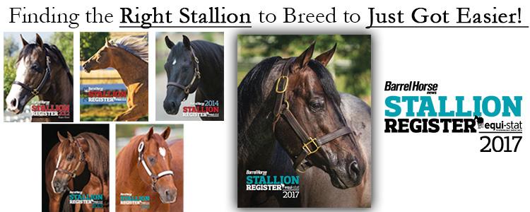 Stallionregister covers 2017