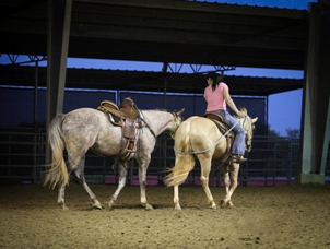 Finding success in the futurity ranks requires dedication and many hours of hard work and planning. Photo by Kathy Donegan