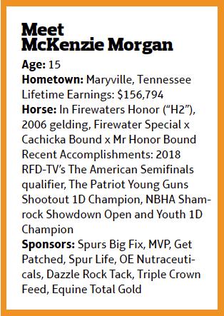 McKenzie Morgan bio