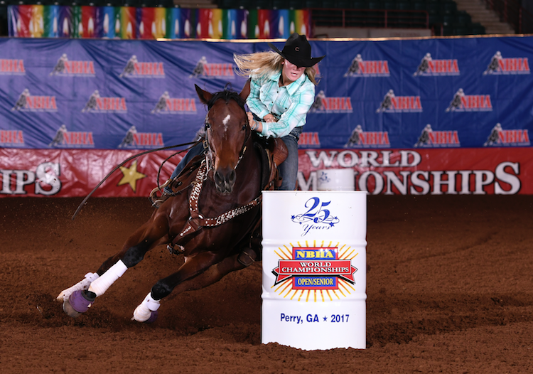 Rylee Elliott Claims Open 1D Title At 25th Annual NBHA World Championship Show