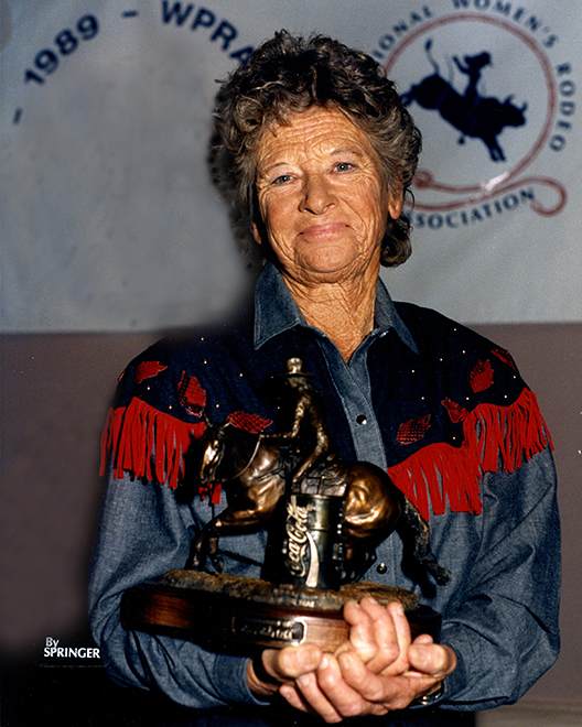 Wanda Bush in 1989