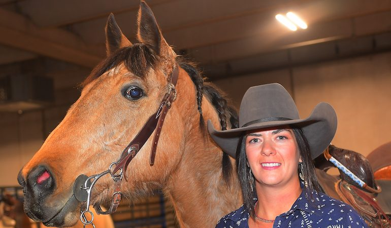 Canadian Barrel Racing Champion Carman Pozzobon Achieves
