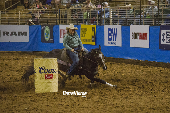 Tracy Nowlin Earns First Trip to NFR Aboard DJG Madison - Barrel