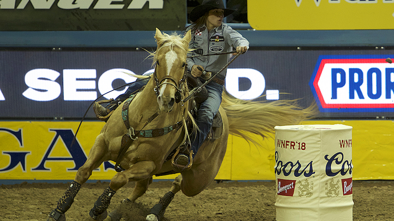 Hailey Kinsel Wins Round One Of 2018 Nfr Barrel Horse News