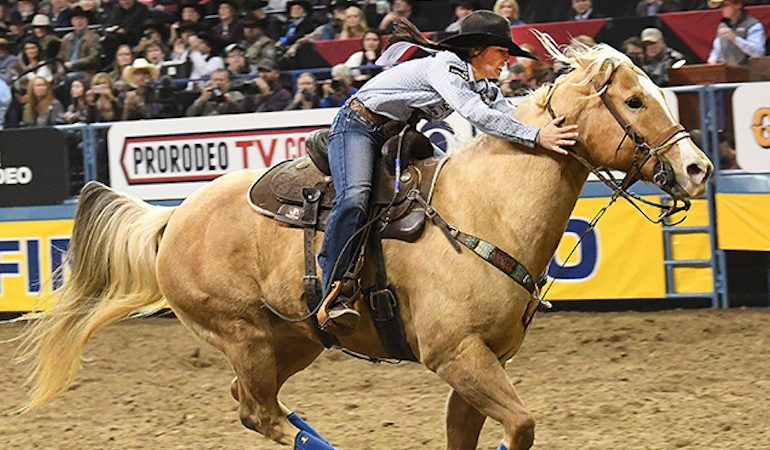 Hailey Kinsel Wins Back To Back Wrangler Nfr Go Rounds
