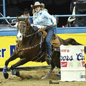 Jessie Telford Whips Up WNFR Round-Four Win