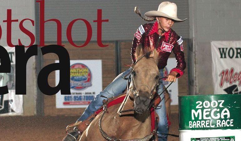 Tyrney Steinhoff riding Nate Shilabar