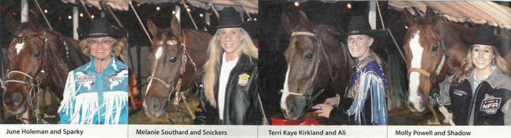 four of the Top 15 barrel racers from 2005