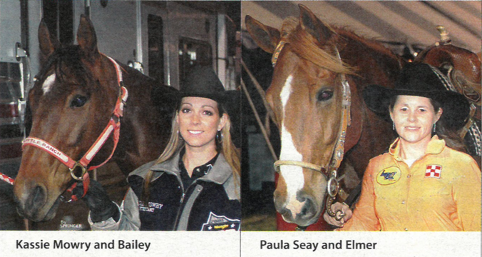 2 of the Top 15 barrel racers from the 2005 WNFR