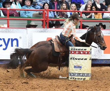 Acey Pinkston and Laico Coronoa won RFD-TV's The American Semifinals. Photo by Kenneth Springer