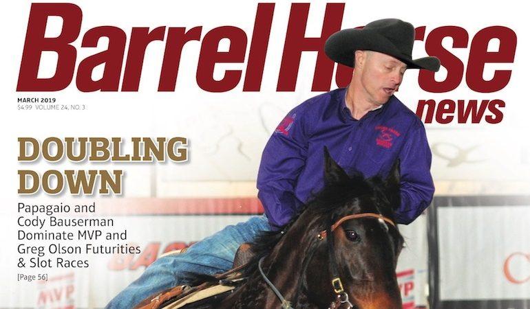 Barrel Horse News March 2019 cover