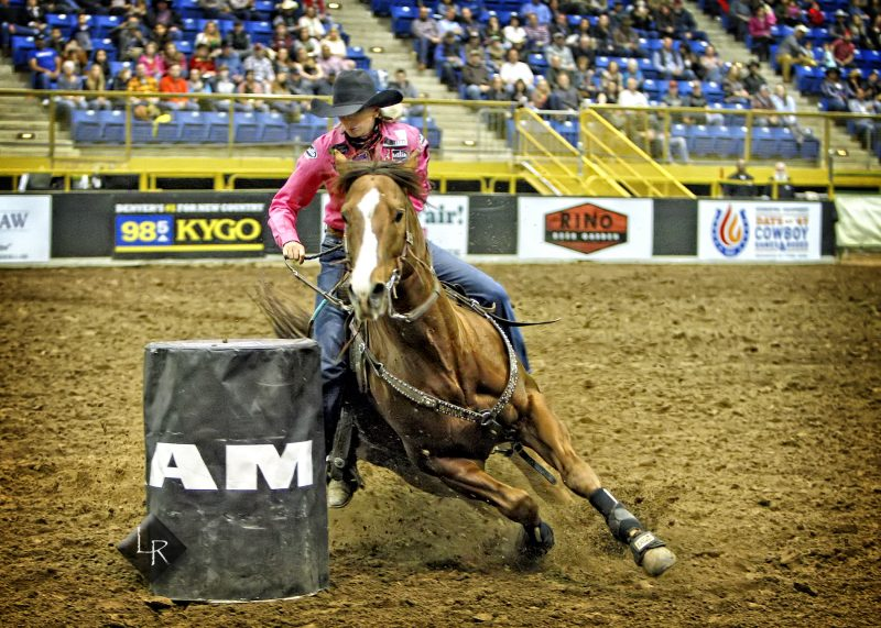 Colorado One Two Punch At 2019 Rodeo All Star Barrel