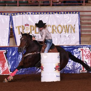 From Bottle Baby to Barrel Racing Star