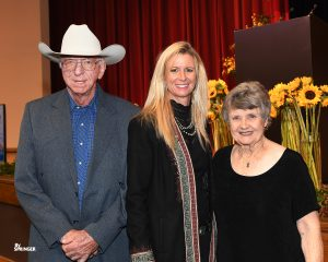 Sherry Cervi with her parents Mel and Wendy Potter