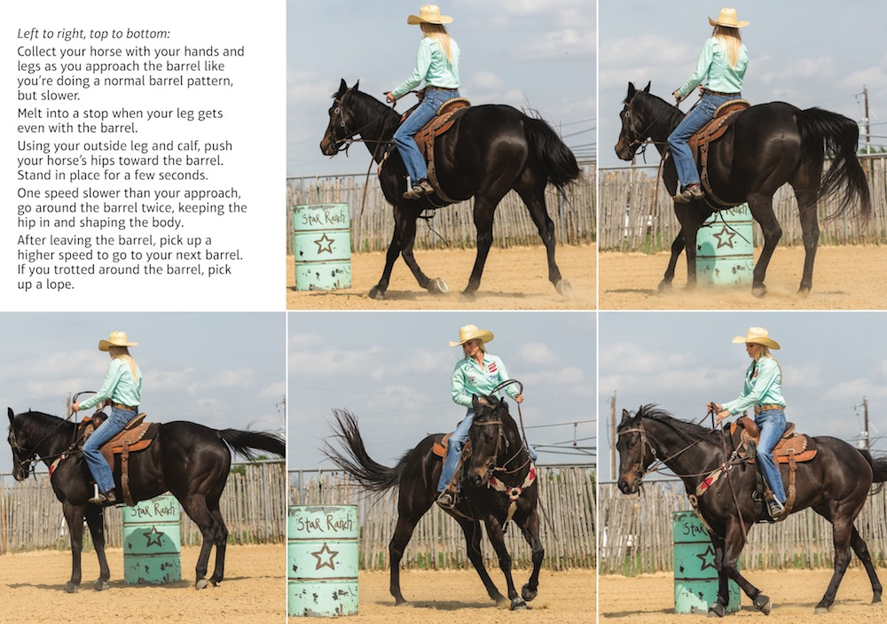 Nicole Laurence demonstrating slow work drill