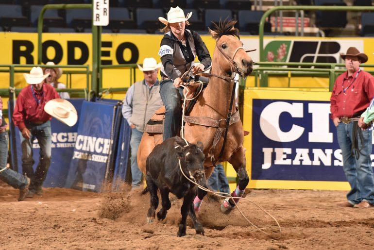 2019 College National Finals Rodeo Kicks Off Barrel