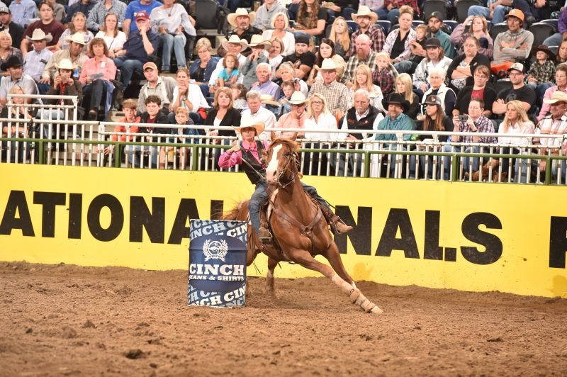 College National Finals Rodeo Results Round Two Barrel
