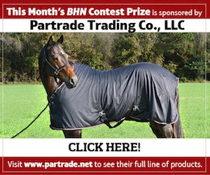 Barrel Horse News monthly contest graphic
