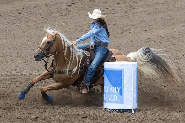 Hailey Kinsel Sweeps Calgary Stampede Pool B Barrel