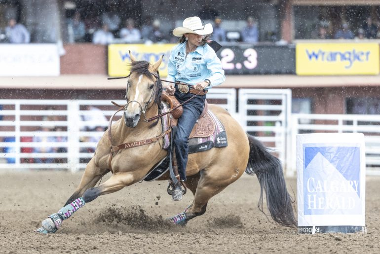 Lisa Lockhart Clinches Calgary Stampede Championship
