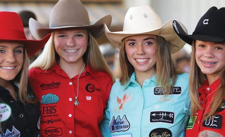 girls at 2019 NBHA Youth World Show