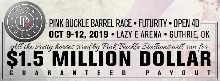 Pink Buckle Announces 2020 $100,000 Futurity Sale Graduate Incentive