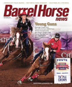 Barrel Horse News magazine September 2019 cover