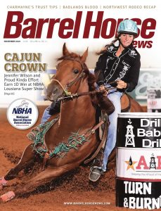 Barrel Horse News 2019 fold out cover November 2019