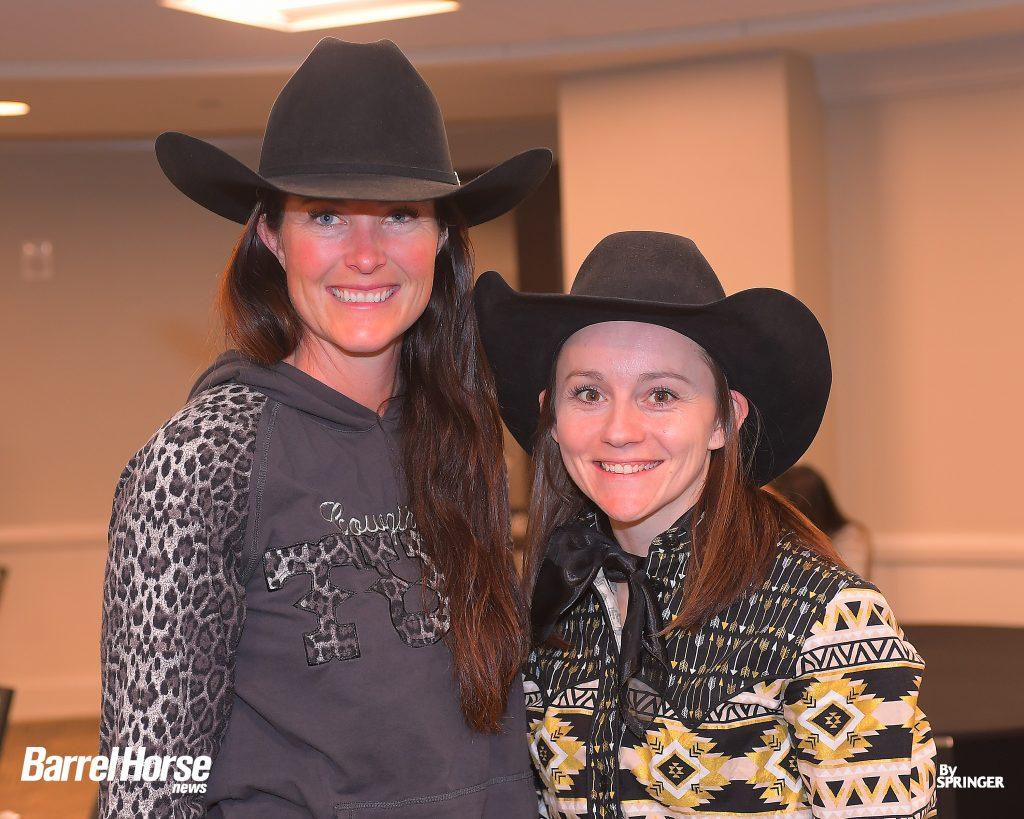 Hallie Hanssen and Amanda Harris