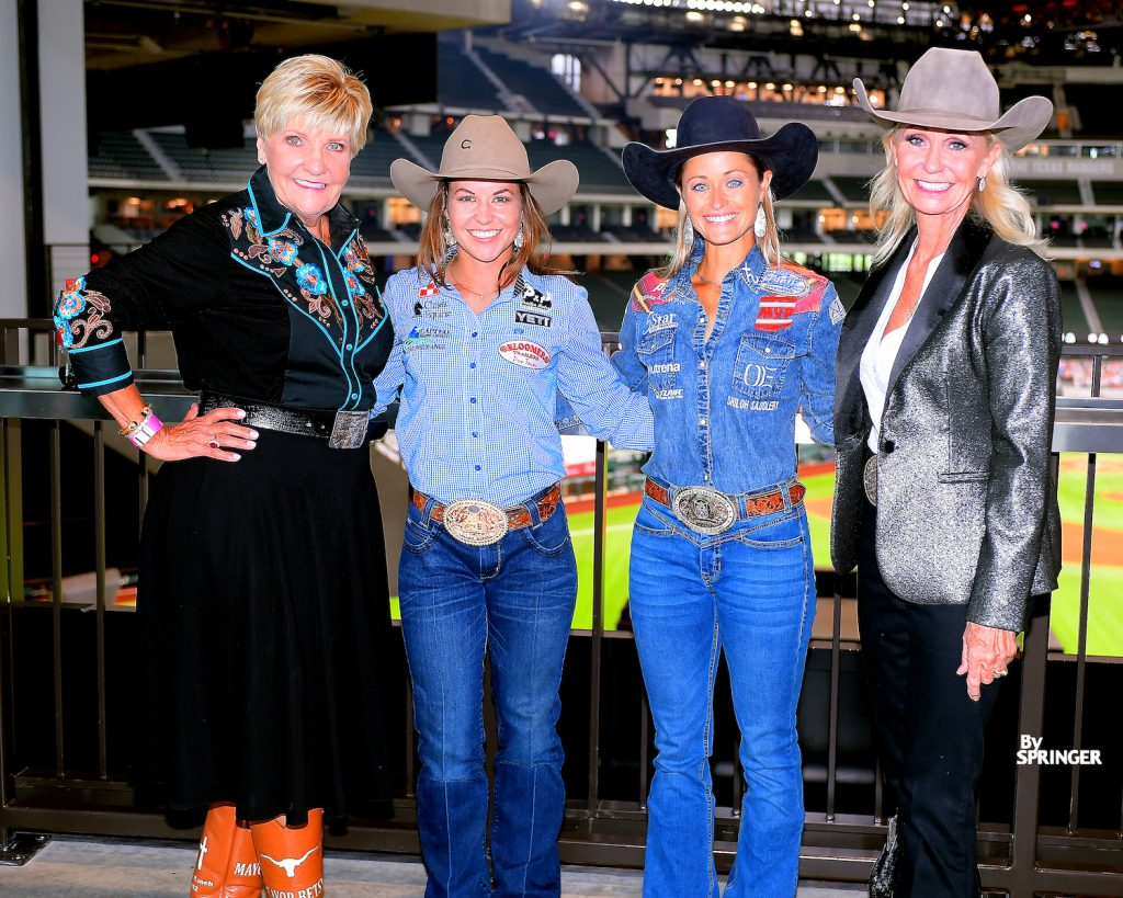 Fort Worth Mayor Betsy Price, Hailey Kinsel, Stevi Hillman and Pam Minick