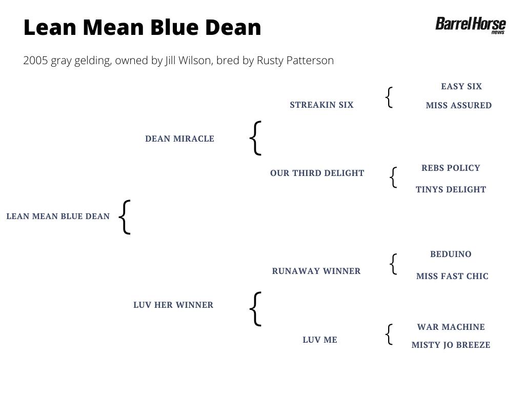 Lean Mean Blue Dean pedigree