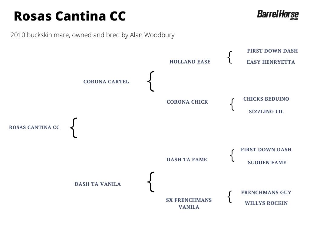 Rosas Cantina CC pedigree