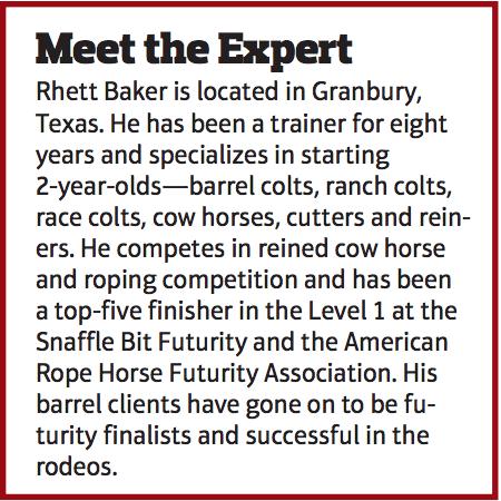 Meet the Expert box about Rhett Baker