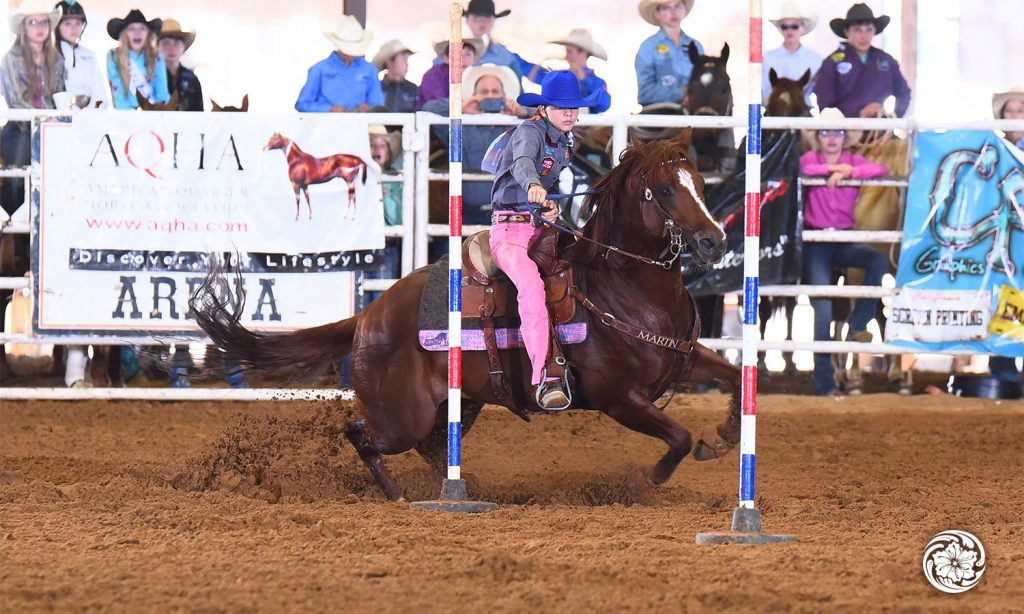 Jayci Byler is young so her riding style matches the Martin Saddlery Guardian