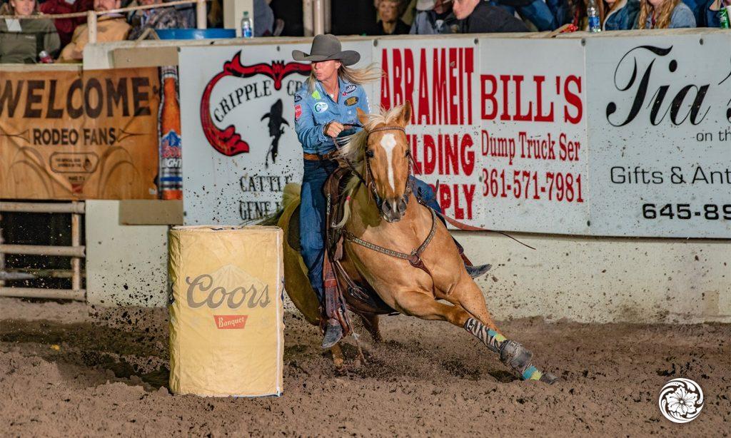 Sherry Cervi's stirrup riding style
