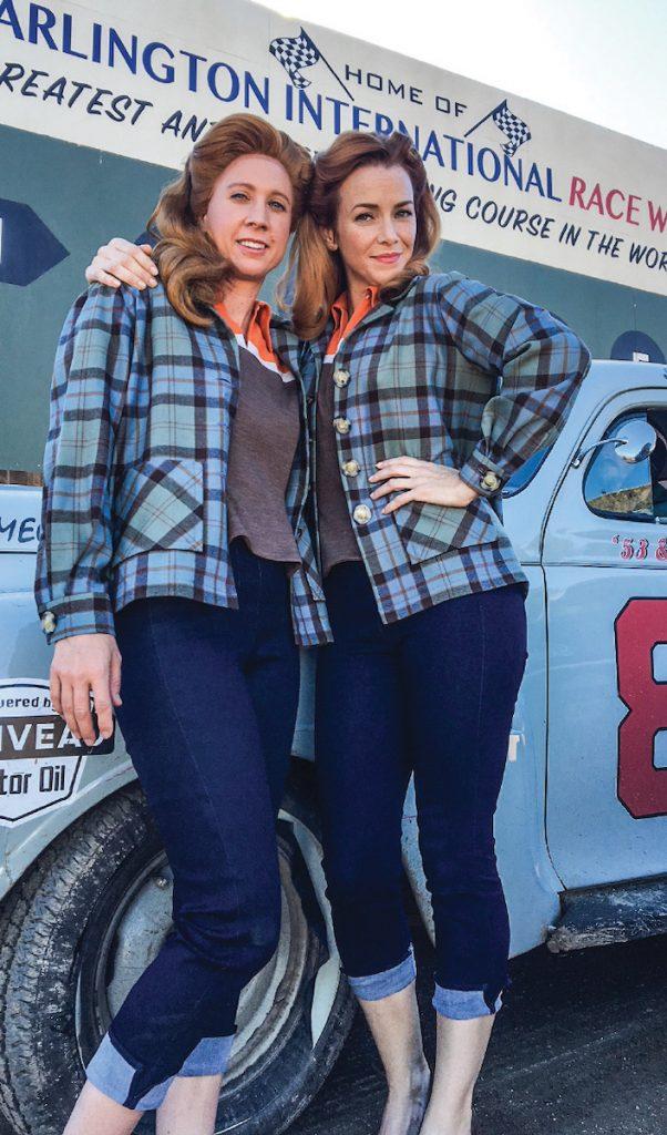 Ann Scott McGilchrist as the stuntwoman for Haley Bennett.