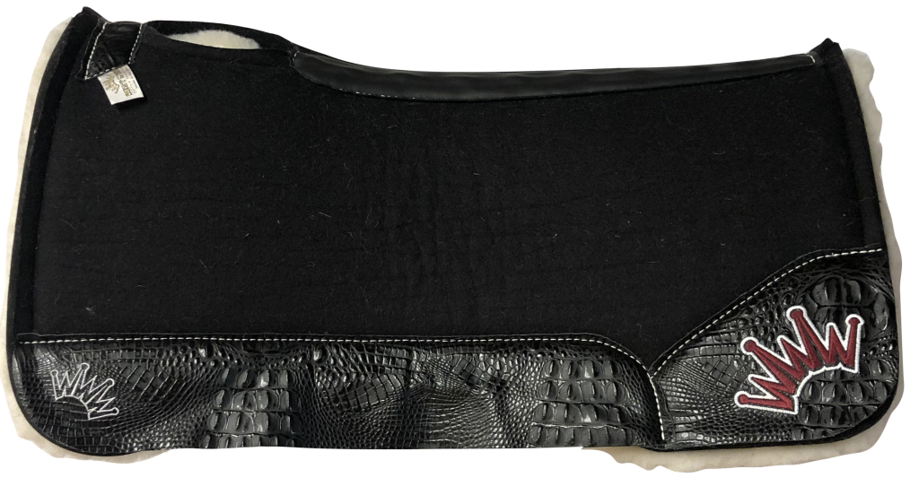 saddle pads for horses with swaybacks