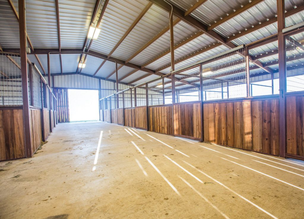 Stalls are an important part of the design fo equine facilities.